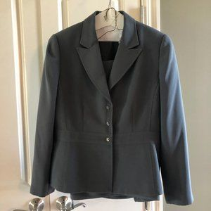 Nearly new Tahari grey suit